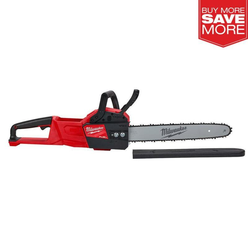 """Milwaukee M18 FUEL 18-V Lithium-Ion Brushless Cordless 16"""" Chainsaw (Tool-Only)"""