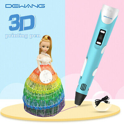 3D Printing Pen Drawing Arts Printer Modeling ABS PLA Filament for Kid Gift