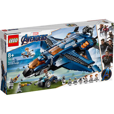 Lego Marvel Avengers Ultimate Quinjet Building Set - 76126