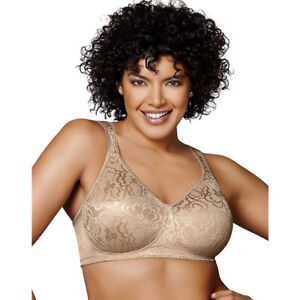 b228d14a826 Playtex 4745 Ultimate 18 Hour Lift and Support Wirefree Bra 36 C ...