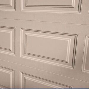 9 x 7 insulated garage door