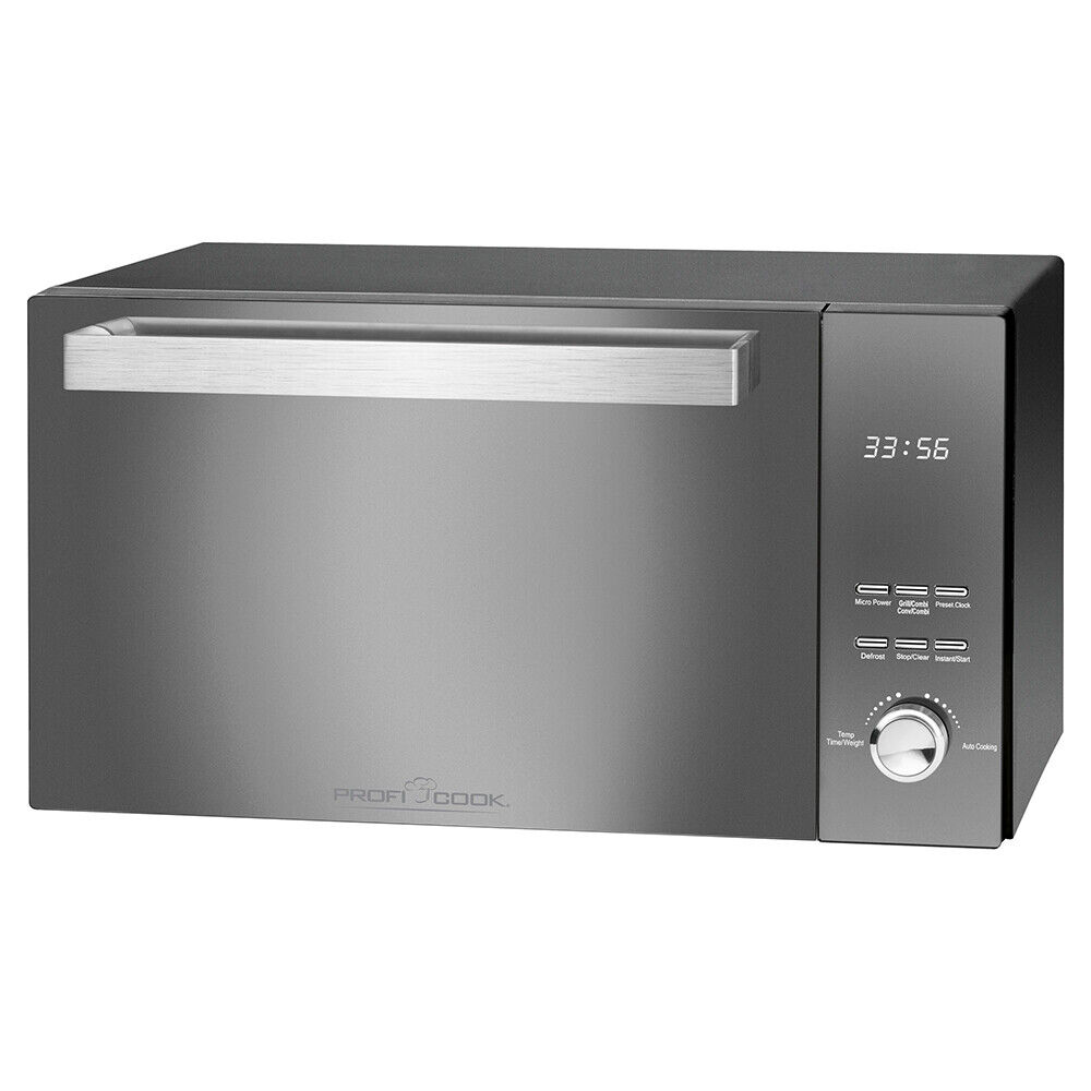 ProfiCook Mikrowelle mit Grill PC-MWG 1204 Microwelle Microwave 23 Liter 1000 W