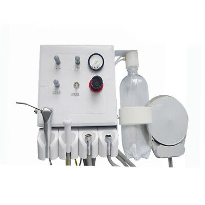 Hanging Wall Type Portable Dental Turbine Unit Suction Work With Air Compressor
