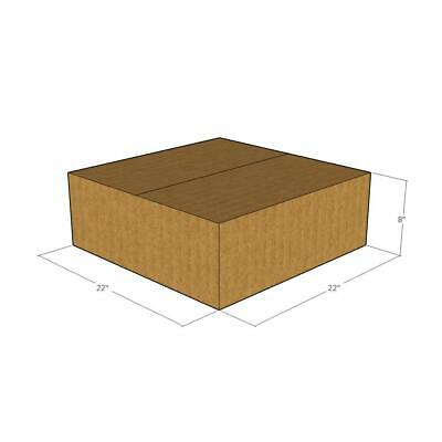 22x22x8 New Corrugated Boxes For Moving Or Shipping Needs - 32 Ect