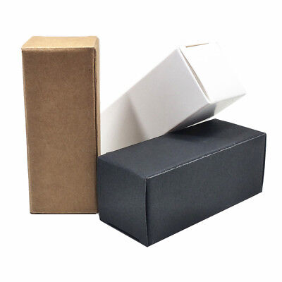 Kraft Paper Packing Boxes For Essential Oil Cosmetic Lipstick Christmas Gift Box