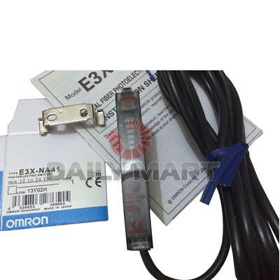 New In Box Omron E3x-na41 Photoelectric Optical Fiber Sensor Switch E3xna41 1pc