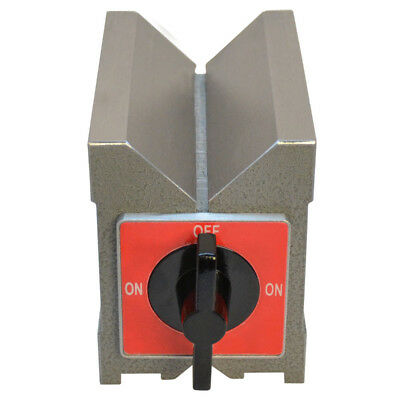 260 Lbs Magnetic V-block Hrc58 To 60 Hardness 90 Degree V