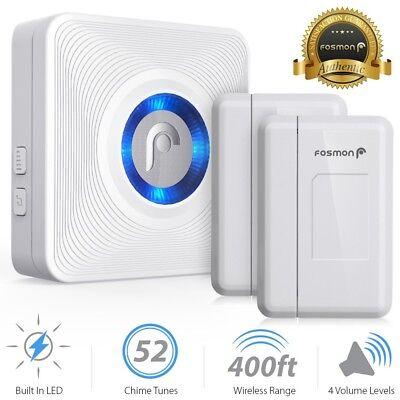 Wireless Window/Door Open 52 Chime Entry Security Alarm Doorbell Magnetic Sensor