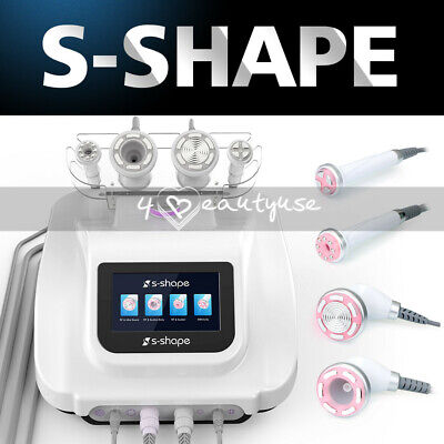 S-shape Ultrasoundrf Ems Electroporation Vacuum Suction Body Face Care Machine