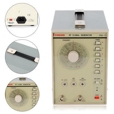 New 110v Signal Generator High Frequency 100 Khz 150mhz Rfam Signal Waveform