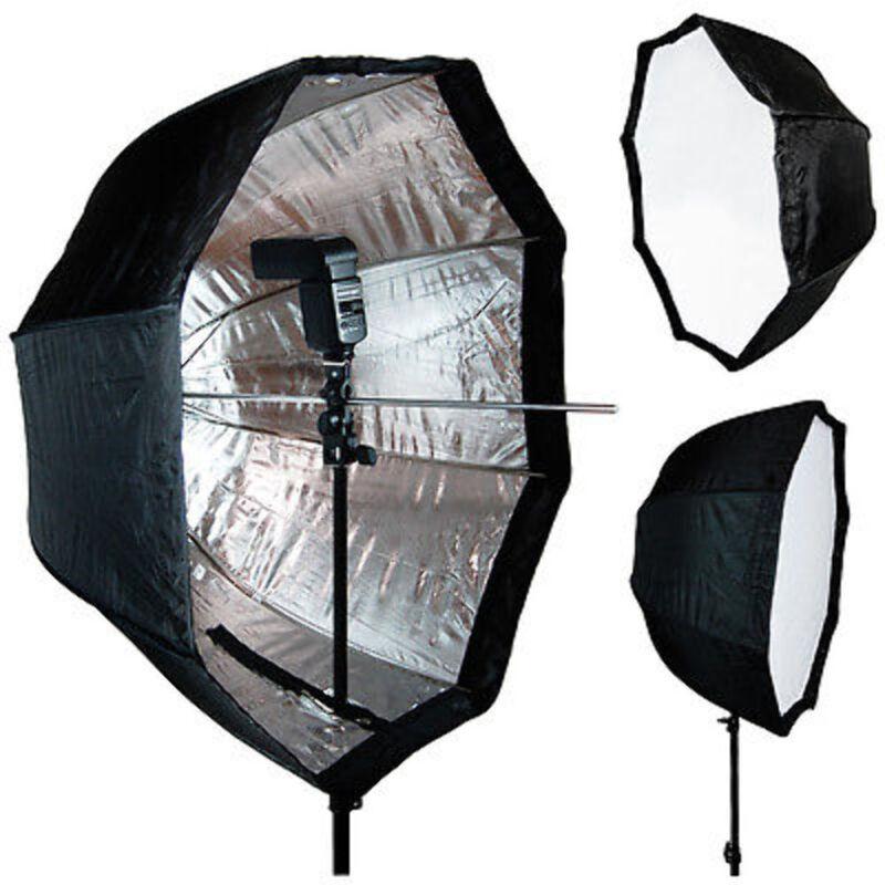 """Photo Studio 32""""/82cm Octagonal Umbrella Softbox for Speedlite / Studio Flash"""