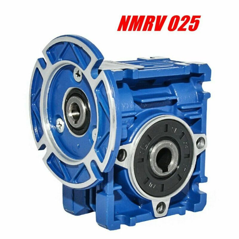 NMRV 025 Worm Gear Reducers Gearbox Reduction Ratios 7.5 10 15 20 30 50 60