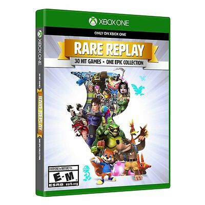 Rare Replay  Xbox One Xb1  30 Retro Hit Video Games   One Epic Collection  New