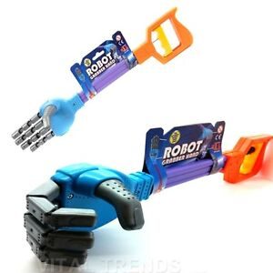 ROBOT CLAW HAND GRABBER HAND -kids boys toy stocking filler party bag