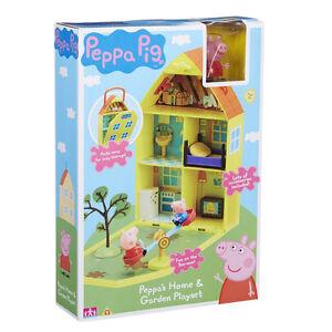 New Peppa Pig Peppa's House & Garden Playset
