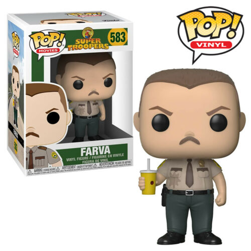 Rod Farva Super Troopers Official Funko Pop Vinyl Figure Collectables