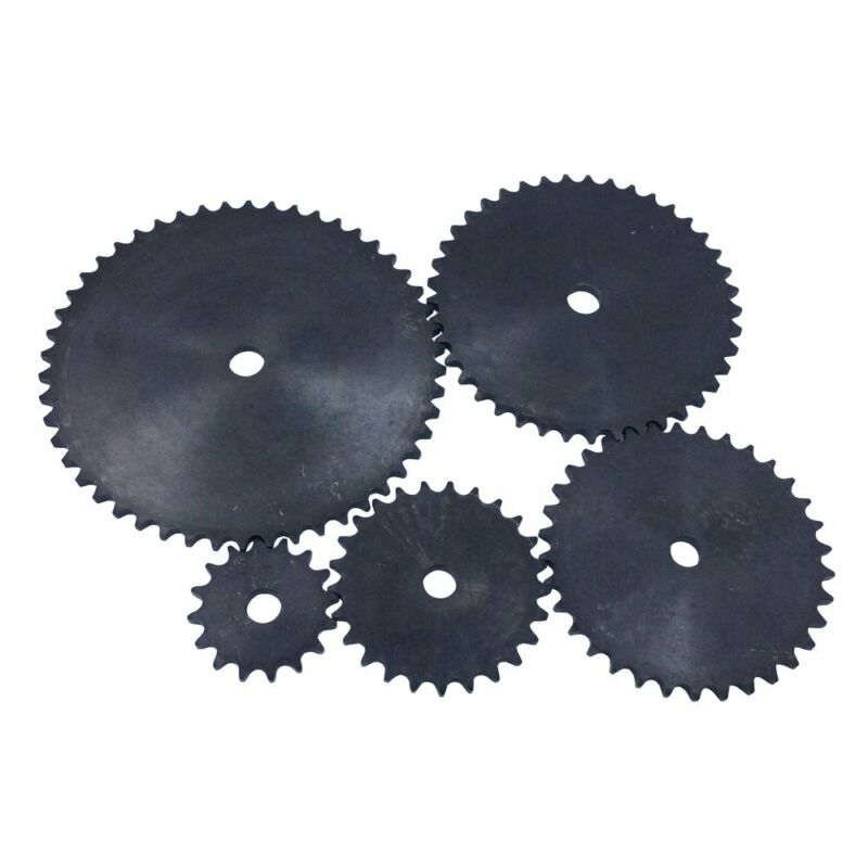 13-49 Tooth 1/2 5/8 0.594 0.719 Roller Chain Plate Sprocket for #40 Roller Chain
