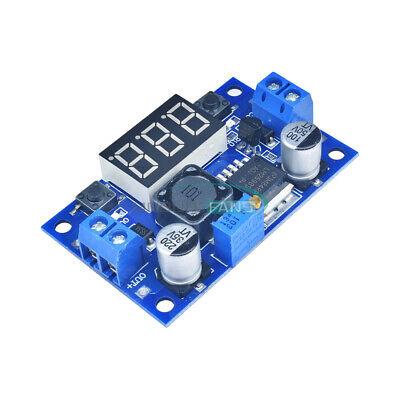 Dc 4.040 To 1.3-37v Led Voltmeter Lm2596 Buck Step-down Power Converter Module
