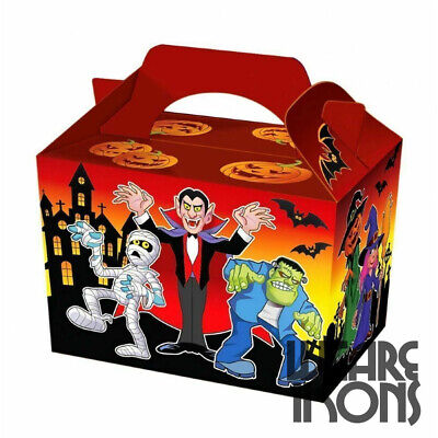 Halloween Food Meals (Halloween Spooky Party Food Boxes ~ Trick or Treat Sweet Meal Box)