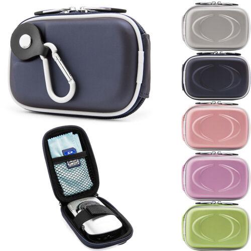Small Digital Camera Case Pouch Bag W/Clip For Canon Powersh