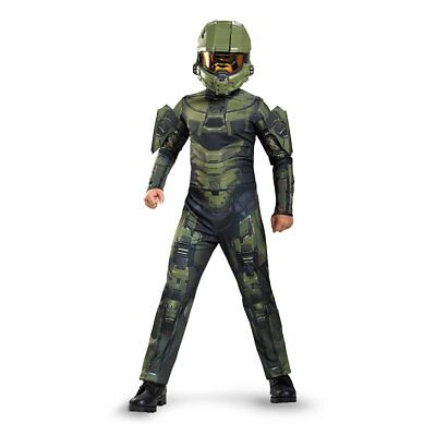 Halo Master Chief Classic Kids Child Costume | Disguise 89968 - Kids Halo Costumes