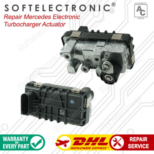 Mercedes Turbocharger Actuator Hella 6NW009420  6NW009 420 Repair Service