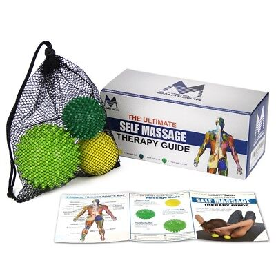 Set of 3 Ball massage set for back foot pain Shijam best for plantar