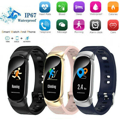 Women Smart Bracelet Smart watch waterproof Android iPhone Samsung apple huawei
