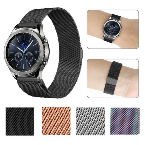 For Samsung Gear S2 / S3 Metal Watch Band Stainless Steel Br