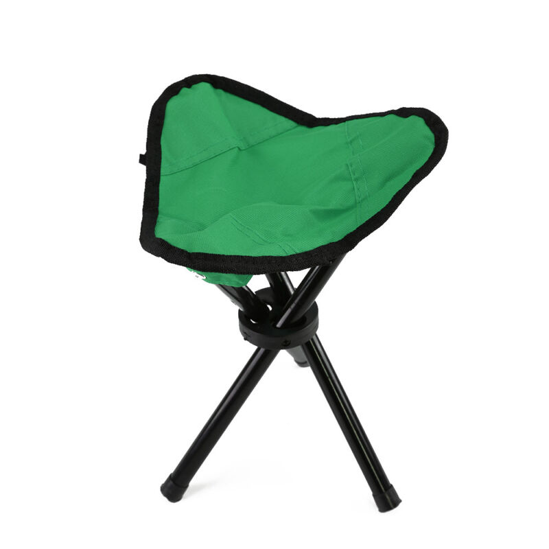 1Pc Triangle Folding Stool Fishing Lightweight Picnic Camping Barbecue Chair CB