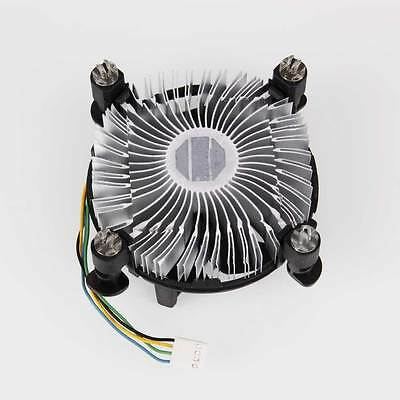 New for Intel Core2 LGA Socket LGA775 CPU w/heatsink fan Black