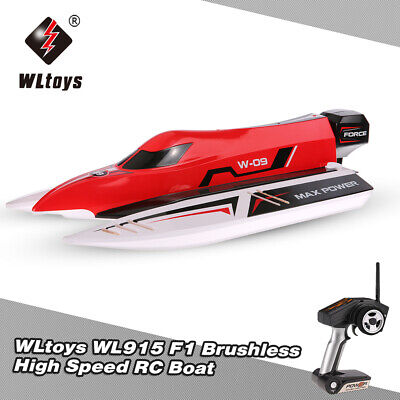 WLtoys WL915 2.4G Brushless RC Rennboot 45km/h High Speed Ferngesteuertes Boat