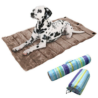 Pet Bed Mat for Dog Crate Soft Warm Pad Liner Home Indoor Outdoor Bed Cushion
