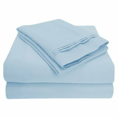 1000 Thread Count 100% Egyptian Cotton 4-Piece Sheet Set by