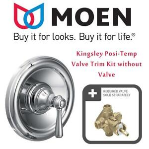 New  Moen T2111 Kingsley Posi-Temp Valve Trim Kit without Valve (Chrome) Condition: New