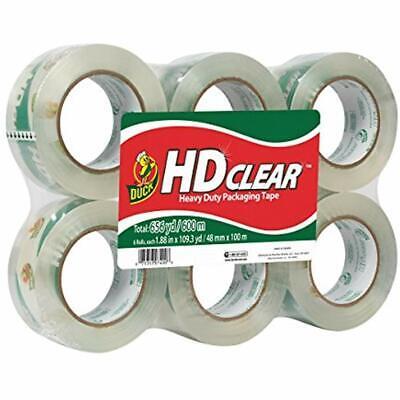 HD Clear Heavy Duty Packing Tape 1.88 Inch X 109 Yards 6 Rolls 299016 Office