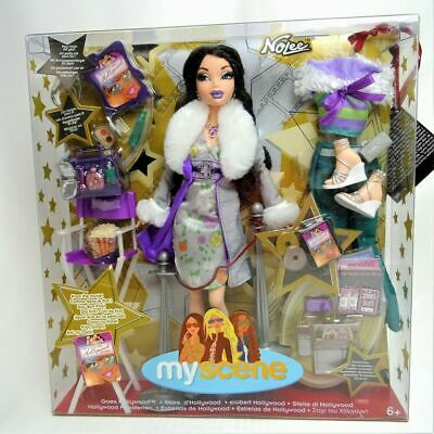 Playset Muñeca Barbie My Scene Nolee Doll 1/6 set clothes dress shoes Mattel