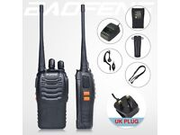 50 x 2 Way Radio Walkie Talkie Baofeng Radios 400-470Mhz - JOB LOT - WHOLESALE