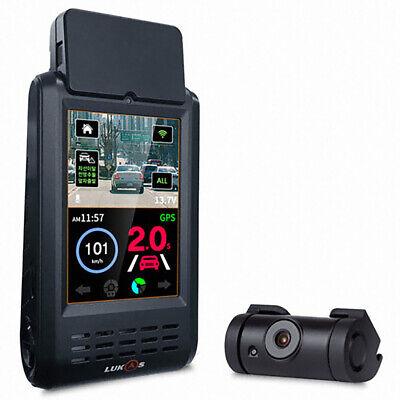 "Lukas K-900 QD 3.5"" IPS LCD 2ch QHD Car Dash Camera Car Blackbox 32GB"