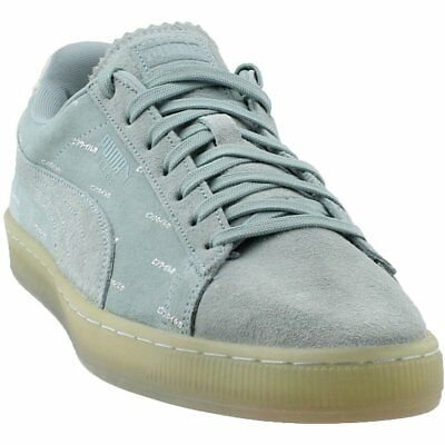 Puma Suede V2 Pink Dolphin  Casual   Sneakers - Blue - Mens