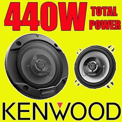 KENWOOD 440W TOTAL 2-WAY 4 INCH 10cm CAR DOOR/SHELF COAXIAL SPEAKERS PAIR