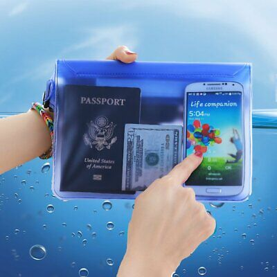 Waterproof Pouch Dry Bag Protective Case Waist Strap For Boating Swimming Beach