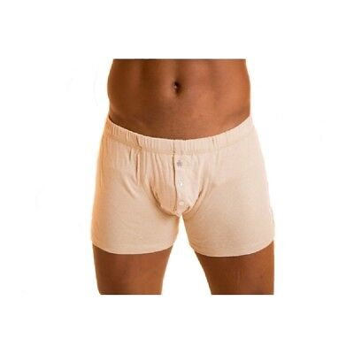 100% Natural Organic Unbleached GOTS Cotton Mens Boxer Shorts Best for