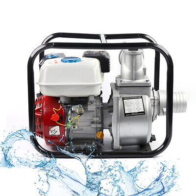 3 Inch Portable Gasoline Water Transfer Pump 7.5hp 4 Stroke Flood Irrigation