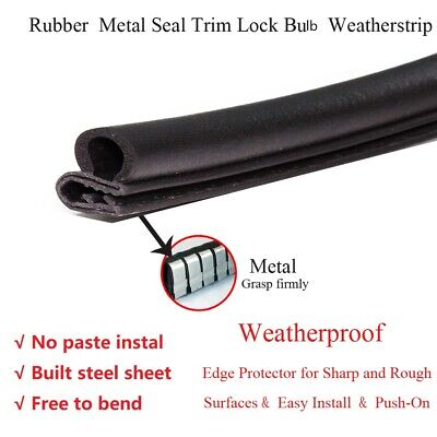 Car Parts - 18ft Rubber Seal Strip Edge Trim Weather Strip Car Parts Doors Window Protectors