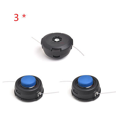 Dual Line Trimmer Head - 3* Auto Feed Tap Head Trimmer 10mm Dual Line Replace For Husqvarna T35 531300194