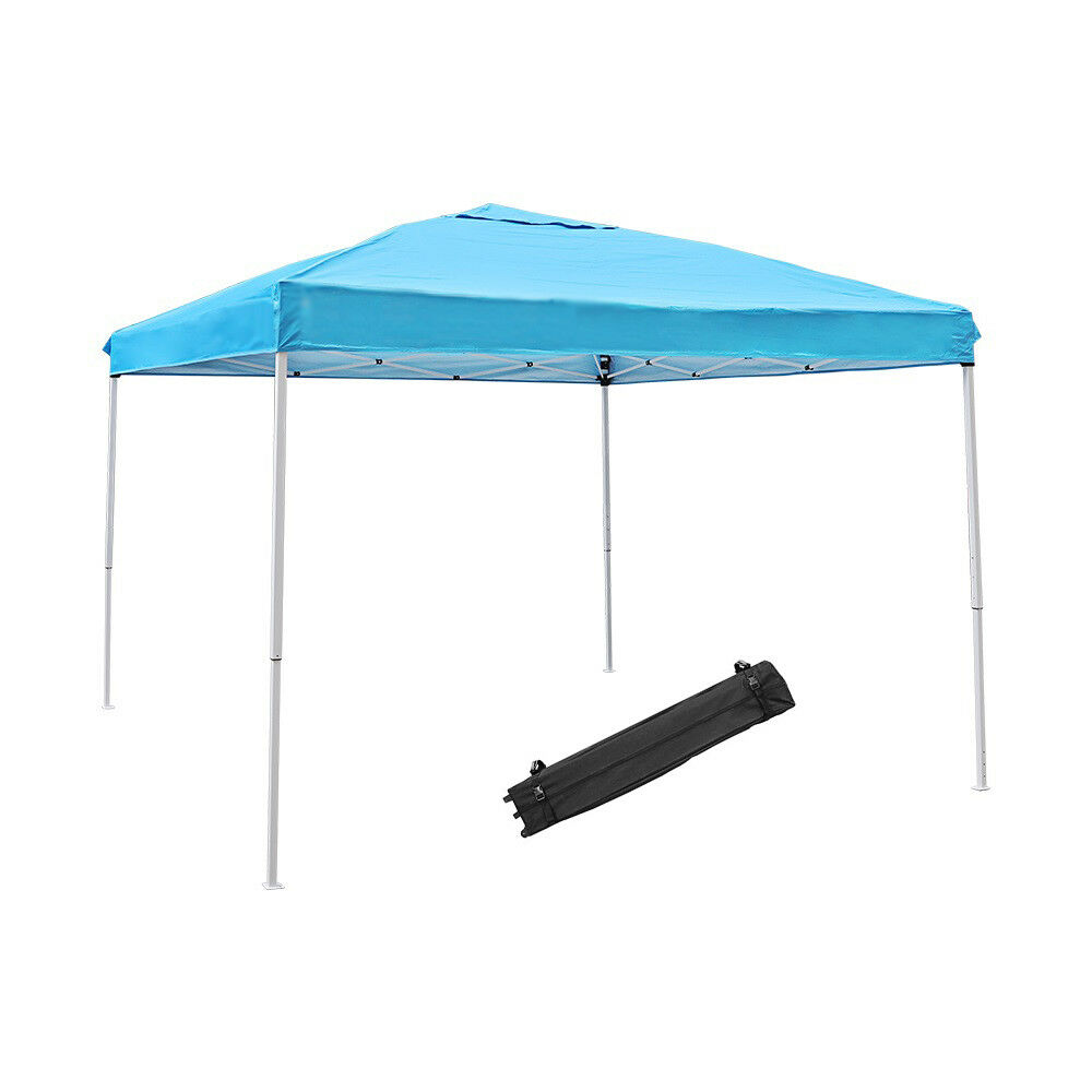 10X10ft Instant Canopy,Pop Up Canopy,Straight Leg Wheeled Ca