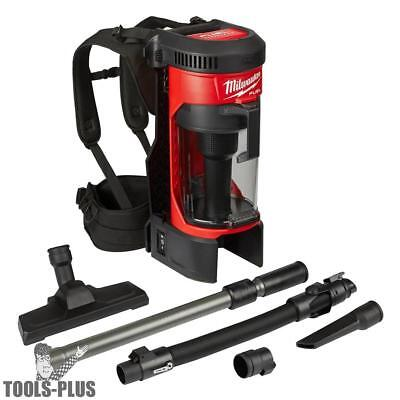 Milwaukee 0885-20 M18 Fuel 3-in-1 Backpack Vacuum Tool Only New