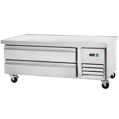 Arctic Air 62in Two Drawer Refrigerated Chef Base - Arcb60