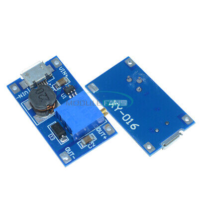 2a Booster Board Dc-dc Step-up Module Input 224v To 591228v Replace Xl6009